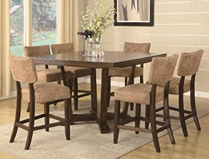 7PC Counter Height Table and Chairs Set