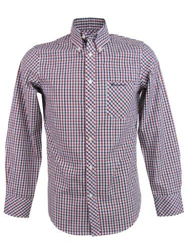 Ben Sherman Shirt 'House Check' Long Sleeve [X-Large]