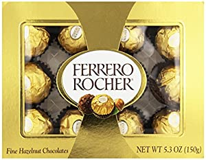 Ferrero Rocher, 12 Count (Pack of 6)
