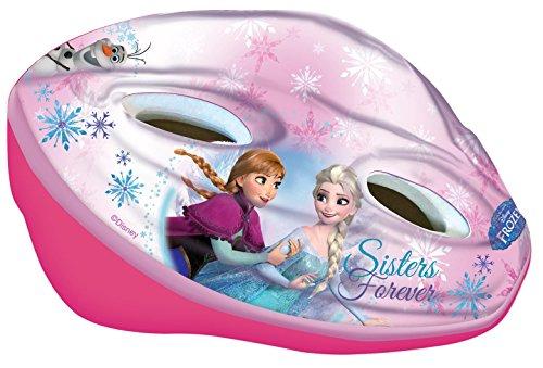 Disney Frozen casco da bicicletta per bambine, Rosa, M, 35660