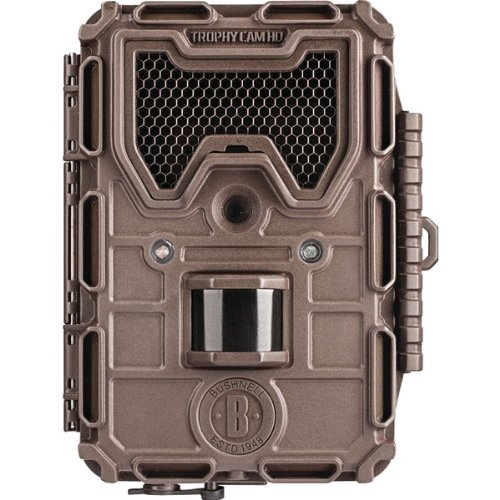 Bushnell 119676C Trophy Black Led Hd 8.0 Megapixel Hd Brown Camera
