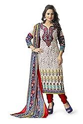 Vaamsi Women's Salwar Suit Dress Material (Cocp42_Beige_Free Size)
