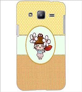 PrintDhaba Cartoon D-4467 Back Case Cover for SAMSUNG GALAXY J2 (Multi-Coloured)