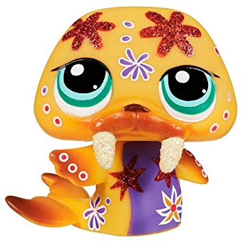 Littlest Pet Shop 2153 MORSE Pêche SCINTILLANT SPARKLE