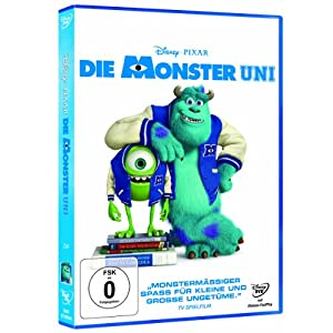 Die Monster Uni [Import allemand]