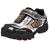Skechers Little Kid/Big Kid Hot Lights - Damager - Race Car Sneaker