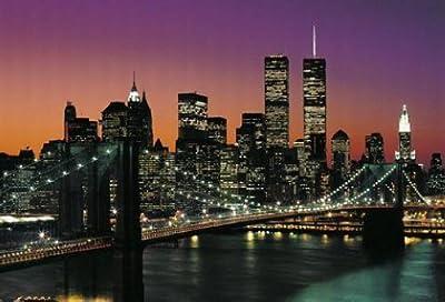 1art1 York - Manhattan 8-piece Photo Poster Wallpaper from 1art1