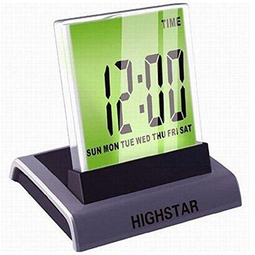Amaranteen - 7 Color Change Mini Desktop Digital Lcd Thermometer