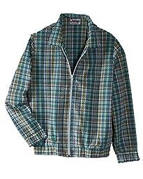 National Plaid Seersucker Jacket, Blue, Large