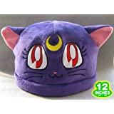 Sailor Moon: Purple Luna Cat Costume Hat