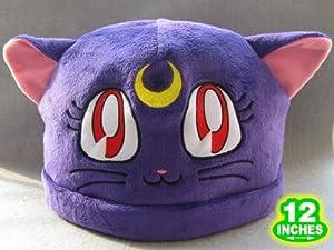 Sailor Moon: Purple Luna Cat Costume Hat