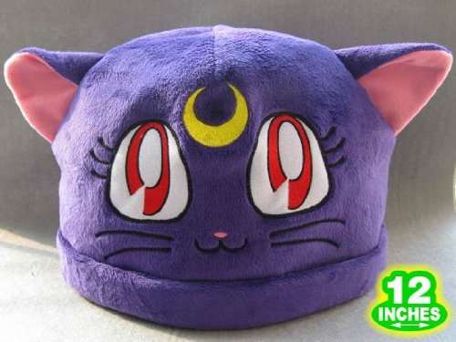 Sailor Moon: Purple Luna Cat Costume Hat - 1