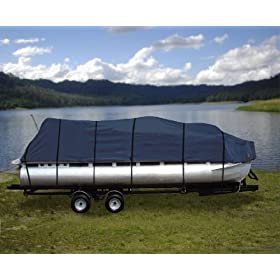 17-20 inch Weather Proof 600d Pontoon Boat Cover
