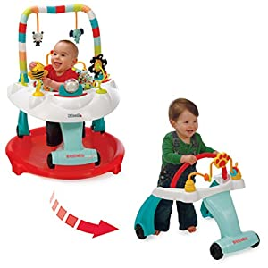 Kolcraft Baby Sit and Step 2-in-1 Activity Center, Bear Hugs