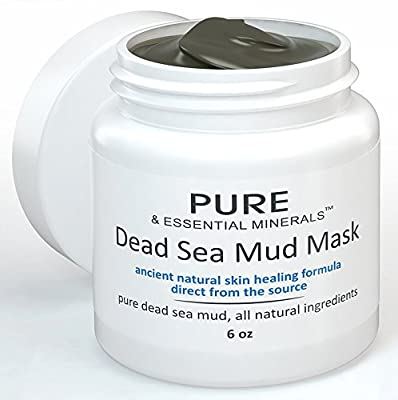 Dead Sea Mud Facial Mask + FREE BONUS EBOOK! - Ancient Natural Facial Mask and Acne Treatment - Anti Aging Mask, Pore Cleanser & Pore Minimizer, Exfoliator & Natural Moisturizer for Women, Men & Teens - Restores Your Skin's Natural Radiance - Heals Acne,