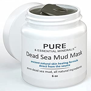 Dead Sea Mud Facial Mask + FREE BONUS EBOOK! - Ancient Natural Facial Mask and Acne Treatment - Organic Anti Aging Mask, Pore Cleanser & Pore Minimizer, Exfoliator & Natural Moisturizer for Women, Men & Teens - Restores Your Skin's Natural Radiance - Heals Acne, Acne Scars, Pimples, Blackheads, Eczema & Psoriasis - Leaves Your Skin Clear, Youthful-Looking and Radiant - 100% Money Back Guarantee!