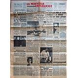 NOUVELLE REPUBLIQUE (LA) [No 4113] du 22/03/1958 - LE CONSEIL DES MINISTRES AFFIRME NECESSAIRE LA NON-BELLIGERANCE...