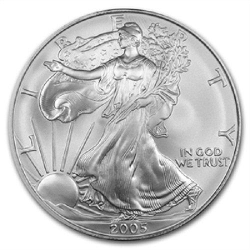 2005 1 Ounce American Silver Eagle 999 Fine Silver