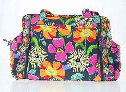 Vera Bradley Make a Change Baby Bag (Jazzy Blooms with Solid Orange Interior) (Vera Bradley Make A Change compare prices)