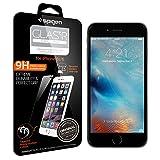 iPhone6S ガラス フィルム, Spigen® 強化ガラス [GLAS.tR SLIM] (0.4mm) Rラウンド 加工 Apple アイフォン6s iPhone6S / iPhone6 対応 (国内正規品) (2015) (iPhone6S, Glas.t R [SLIM])