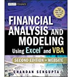 img - for [(Financial Analysis and Modeling Using Excel and VBA )] [Author: Chandan Sengupta] [Nov-2009] book / textbook / text book