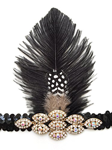 Womens-Gatsby-Feather-Headband