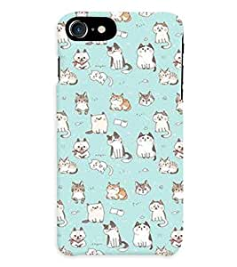 GADGET LOOKS PRINTED BACK COVER FOR APPLE iPHONE 7 MULTICOLOR