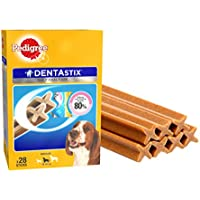 Pedigree Dentastix Medium Breed Dog - Oral Care, 720 g Monthly Pack (28 Sticks)