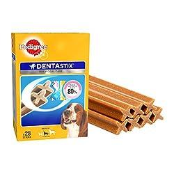 Pedigree Dentastix Medium Breed Dog - Oral Care, 720 g Monthly Pack (28 Sticks)