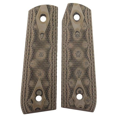 Details for Hogue Ruger 22/45 RP Grip Checkered G-10 Green from Hogue