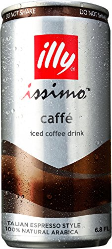 Illy Issimo Caffe Coffee Drink, 6.8 Ounce (Pack of 4)