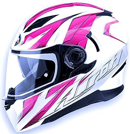 Airoh casque de moto mouvement mVST54 rose