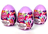 3 My Little Pony Surprise Eggs with M…