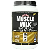 CytoSport Muscle Milk Naturals Lean Muscle Protein Powder, Natural Real Chocolate, 2.47 Pound ~ Cytosport