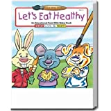 Lets Eat Healthy Paint with Water Activity and Coloring Book Trade Show Giveaway