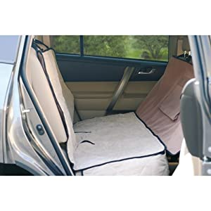 K&H Deluxe Car Seat Saver, Gray