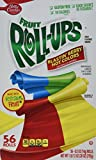 Fruit Roll-Ups, 0.5 Ounce Roll, 56 Count