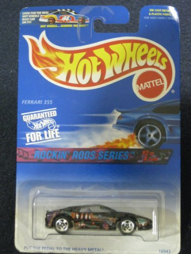 Hotwheels Ferrari 355-Rockin Rods Series#2 0f 4 #570 - 1