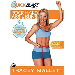 6-Minute QuickBlast Method - Rock Hard Abs & Buns [DVD] [Edizione: Regno Unito]