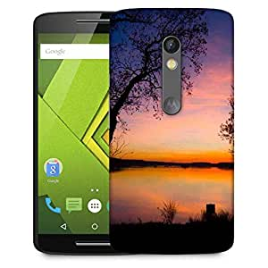 Snoogg Trees At Night Designer Protective Phone Back Case Cover For Moto G 3rd Generation