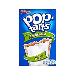 Kellogg\'s Pop Tarts Apple Blast (8x50g) - Pack of 2