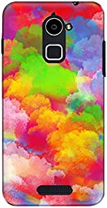 The Racoon Grip printed designer hard back mobile phone case cover for Coolpad Note 3 Plus. (smoke clou)