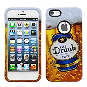 Mybat Iphone5Hpcdrim1032Np Slim And Stylish Protective Case For The Iphone 5 - Retail Packaging - Piss Drunk Beer...