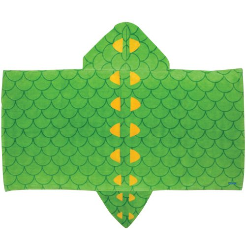 Stephen Joseph Little Boys' Hooded Towel, Alligator, One Size