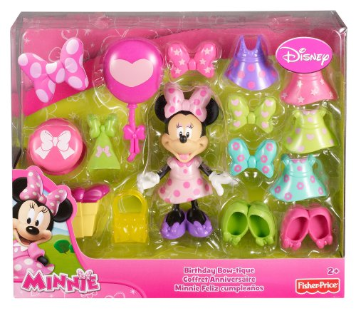 New Fisher Price Disneys Minnie Birthday Bowtique