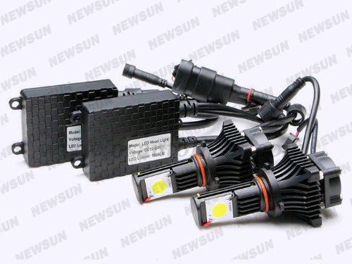 Newsun Cree Cxa1512 Led Headlight 9005 Hb3 Led Head Lamp For Lexus Es300 Es300H Es330 Es350 Gs300 Gs350 Gs400 Gs430 Gs450H 25W High Power 1800Lm