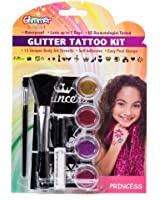 Princess Glitter Tattoo Kit Party Accessory