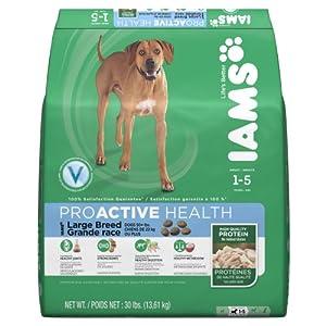 Iams Proactive Health Adult Large Breed Premium Dog Nutrition, 30 Pound
