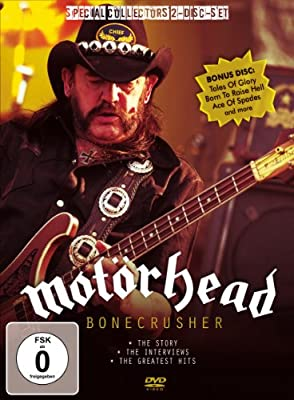Motörhead - Bonecrusher / Unauthorized Documentary (DVD+CD)