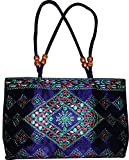 Czds India Women's Blue Handbag (BAG-02)